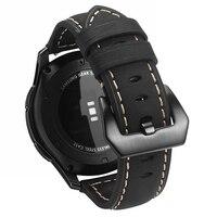 Shelhard новые качественные часы из натуральной кожи ремешок для samsung Galaxy Watch 42/46 мм Универсальные Быстросменные ремни