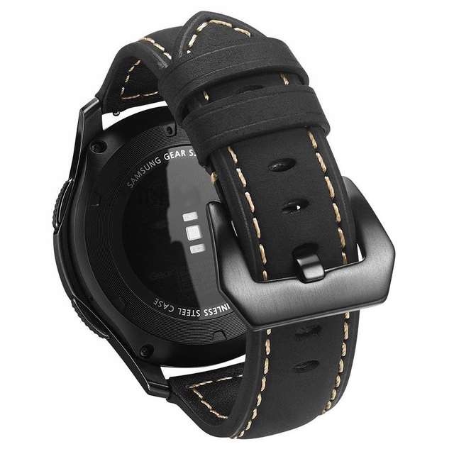 Shelhard новое качество натуральной кожи часы ремешок для samsung Galaxy часы 42/46 мм Универсальный быстрой замены ремни