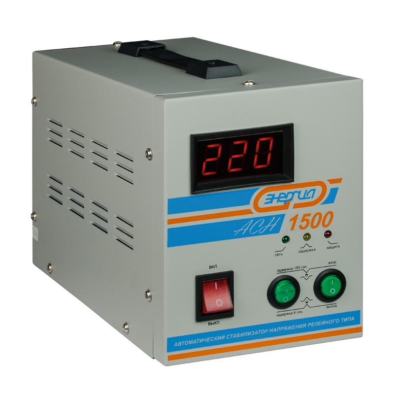 Voltage stabilizer Energy ASN-1500 voltage stabilizer energy asn 1000