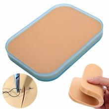 medical silicone skin suture practice kit surgical simulator skin pad training with stitches medical Sciences