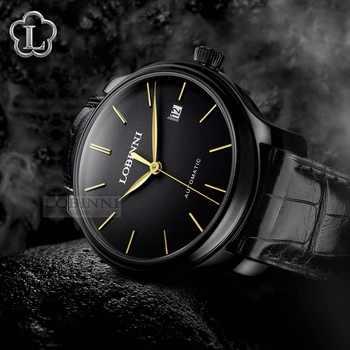 Luxury Brand Clock LOBINNI Watch Men Japan Miyota Auto Mechanical Movement Men\'s Watches Sapphire Waterproof relogio L12035-3