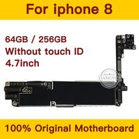 Free iCloud for iPhone 8 Motherboard without Touch ID,Original unlocked Mainboard with Full Chips,100% Good Tested Logic Board