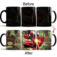 Deadpool Mug Color Changing Magic Mugs Cup Tea Coffee Mug Cup Best Gift for Your Friends|Mugs|Home & Garden -