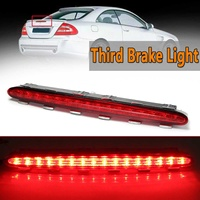 LED Car Rear Third Brake Lights Tail Lamp For Benz For Mercedes CLK W209 2002 2009 Car Styling Rear Roof Warning Light Red