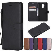 For Huawei Mate 20 Lite Case Leather Flip Wallet Book Cover Black For Huawei Mate 20 Lite SNE-LX1 Mate20 Lite 20Lite 6.3 inch