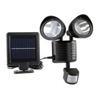 22LEDs Solar Wall Light PIR Motion Sensor Yard Outdoor Garden Security Lamp Aisle Pathway Outdoor Illumination Decor Lantern