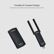 Pix-link USB Wi-Fi przedłużacz zasięgu bezprzewodowy wzmacniacz sygnału wifi podwójna antena wzmacniacz sygnału wifi wzmacniacz Reapter 300 mb/s 802.11b/g/n