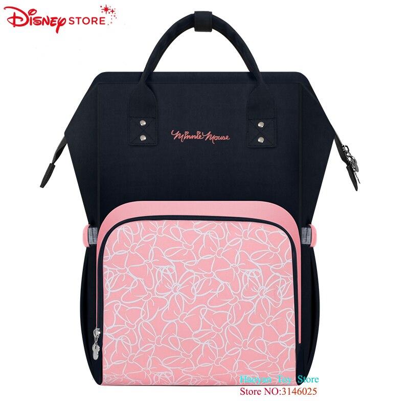 Sacs pour maman | Véritable Disney Fashion, sacs pour maman, sacs étanche Point de vague, bouteille USB multifonction, sacs de chauffage grande capacité, emballage maternel