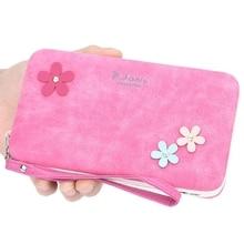 цена на Portable Mobile Phone Bag Multi-Function Lunch Box Wallet Ladies Long Clutch Bag Pencil Case