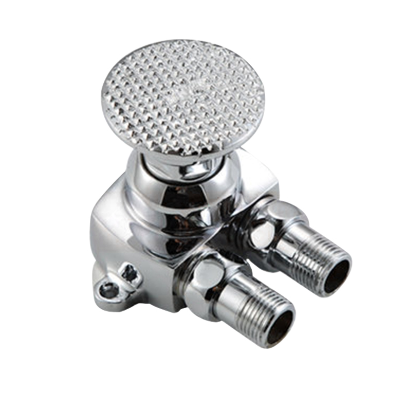 Foot Pedal Control Tap Control Switch Valve Faucet Basin Cold Water Hot Sale