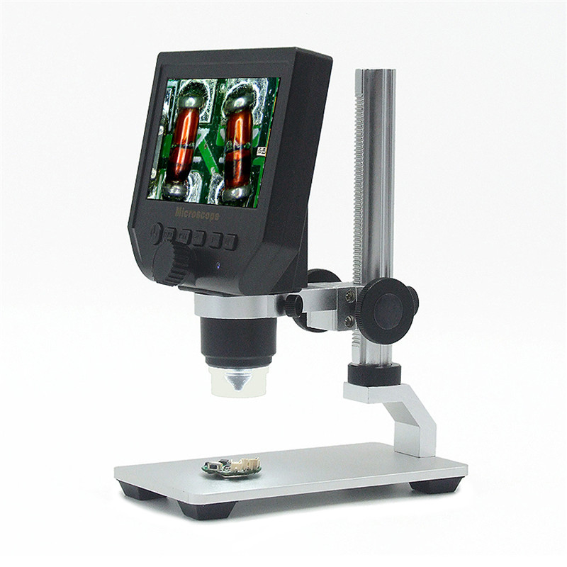 G600 Digital 1 600X 3 6MP 4 3inch HD LCD Display Microscope Continuous Magnifier Upgrade Version