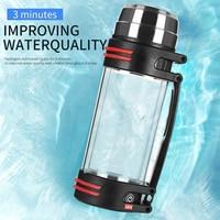 1.5L Portable Molecular Dissolved Hydrogen Rich Water Generators Hydrogen Enriched Water Generator