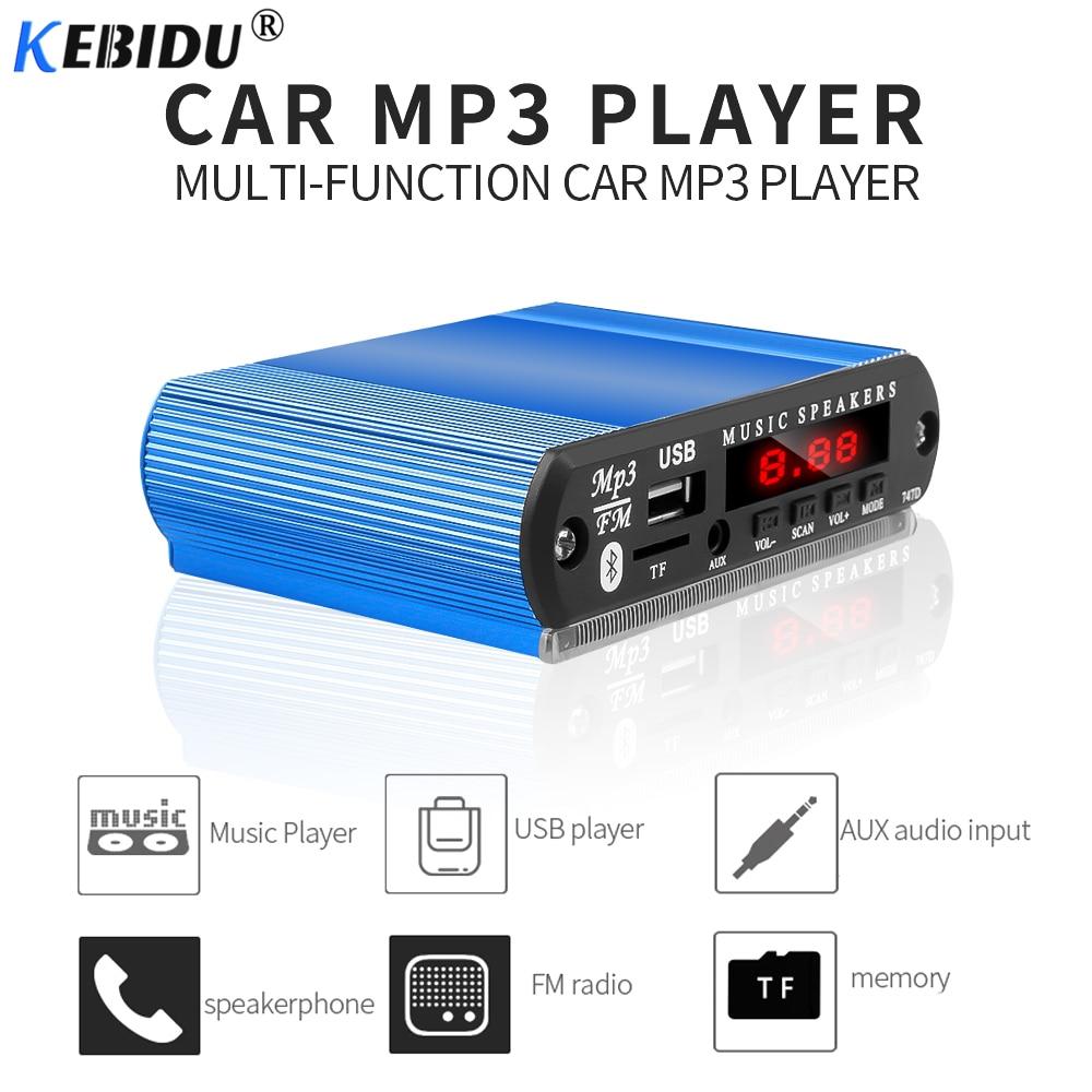 100% Waar Kebidu Draadloze Bluetooth Mp3 Speler Wma Decoder Boord Auto Accessoire Met Opname Functie Ondersteuning Usb/sd/fm Audio Module