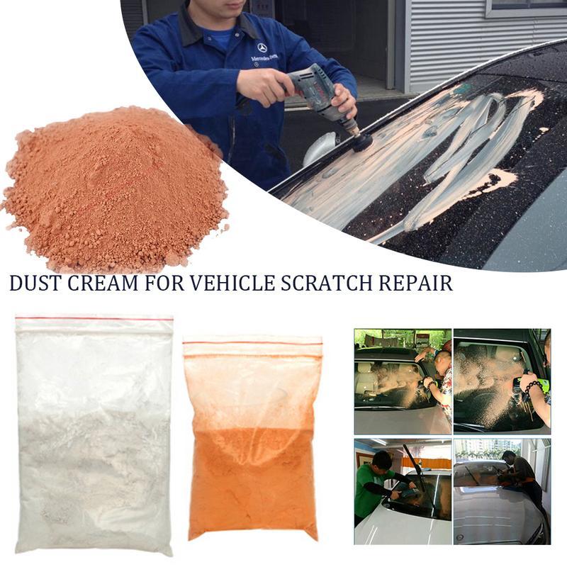 100g Auto Glass Polishing Powder Car Scratch Remove Powder Cream Car Window Repair Tombarthite Cerium Oxide Car Polishing Powder-in Spot Rust & Tar Spot Remover from Automobiles & Motorcycles
