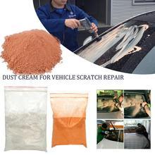 100g auto vidro polimento em pó do carro scratch remover em pó creme reparação da janela do carro tombarthite óxido de cério carro polimento em pó
