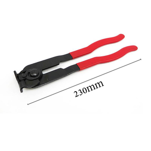 Image 2 - 1 PC Achse Halsbänder Clamp Zangen Zangen Manschetten Zangen Schlauch Staub Jacke Bundle Zange Käfig Entfernung Werkzeug