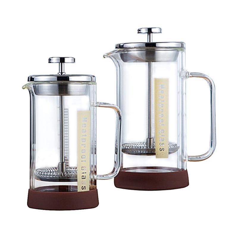 350/600ml Stainless Steel Glass Hollow French Filter Coffee Pot Coffee Tea Pot Press Plunger For Home Office Coffee350/600ml Stainless Steel Glass Hollow French Filter Coffee Pot Coffee Tea Pot Press Plunger For Home Office Coffee