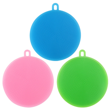 US $0.68 52% OFF|1Pcs Silicone Magic Cleaning Brushes Dish Bowl Scouring Pad Pot Pan Easy Cleaner Wash Brushes Cleaner Vegetable Kitchen Tools S3-in Cleaning Brushes from Home & Garden on Aliexpress.com | Alibaba Group