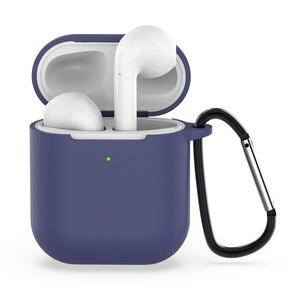 Image 5 - Силиконовый мягкий чехол для Airpods, противоударный защитный чехол для наушников Air Pods, водонепроницаемый чехол для iphone 7 8, аксессуары для гарнитуры