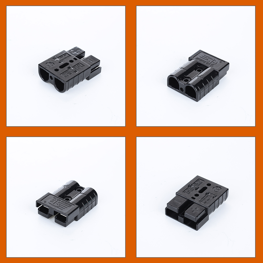 Vehemo 50A 600 в штепсельный соединитель питания железнодорожная электрическая система Простота сборки штекер сменный