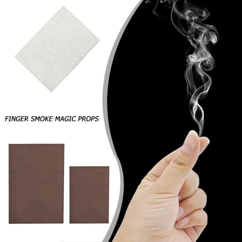 Funny Smoke From Finger Tips Hand Rub Smoke Empty Out Of Smog Super Cool Play Toys Kids Magical Mysterious Magic Trick Props Toy