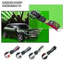 For MINI Cooper F56 F55 F57 F60 Accessories Countryman Hatchback Car Key Chain Ring Clubman F54