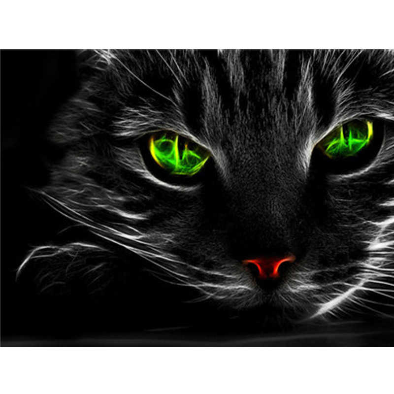 Cat Series Picture By Numbers Oil Paint Photo Wall Art Digital Pictures Painting Decor For Home Decoration Gifts
