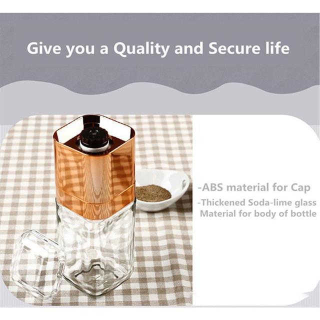 Moulin à poivre professionnel | Outils de cuisine, manuel créatif moulin à poivre, salière pour poivre domestique, broyeur à sel assaisonnement