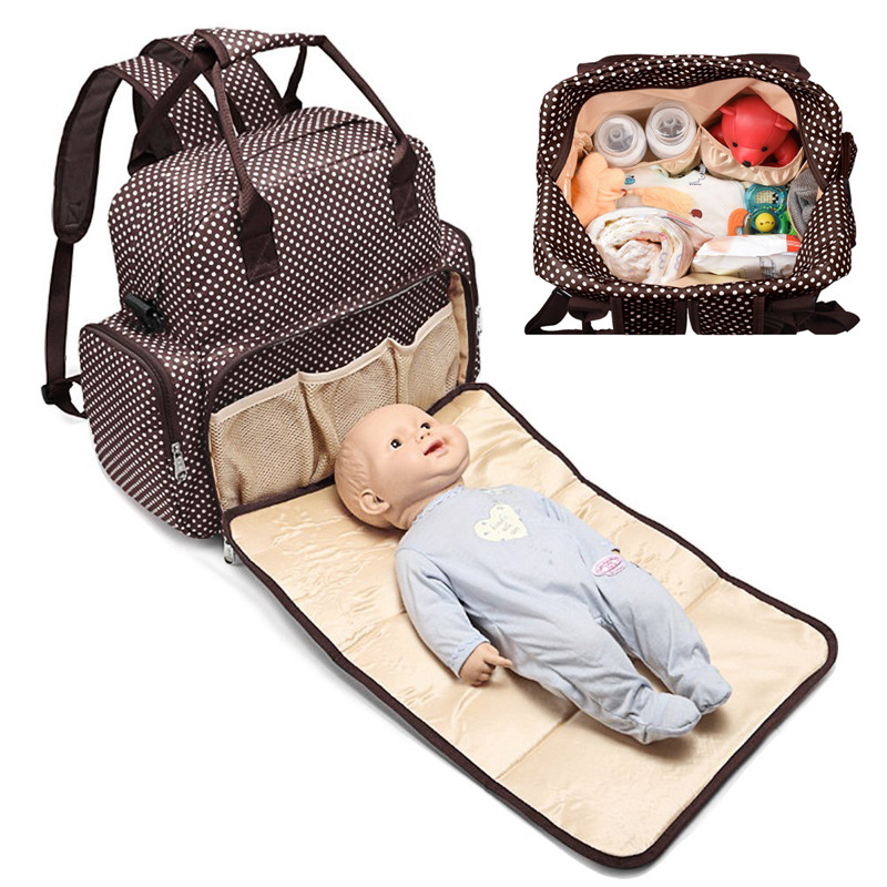 Baby Diaper Bag Large Capacity Mommy Bag Protable Backpack For Baby Nursing Accessories Mummy Maternity Nappy Bag