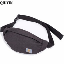QIUYIN New Women Waist Pack Femal Belt Bag Phone Pouch Bags Brand Design Envelope for Ladies Girls Fanny Bolosa