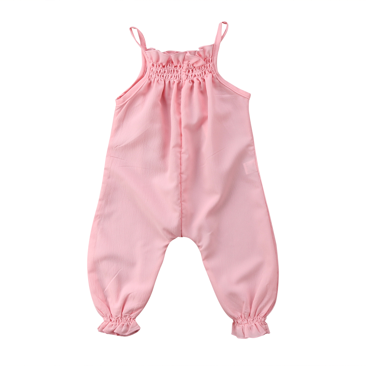 Pudcoco Toddler Infant Baby Girls Strap Romper Newborn Baby Girls Clothing Cotton Overalls Jumpsuit Playsuit Baby Girls Clothes