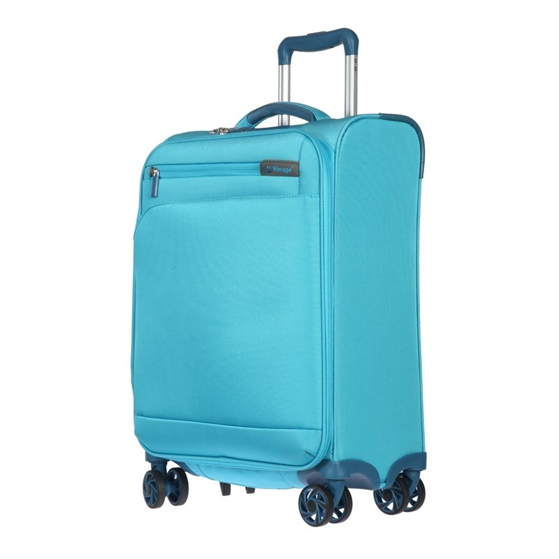 Suitcase-trolley Verage GM17016W20 water blue