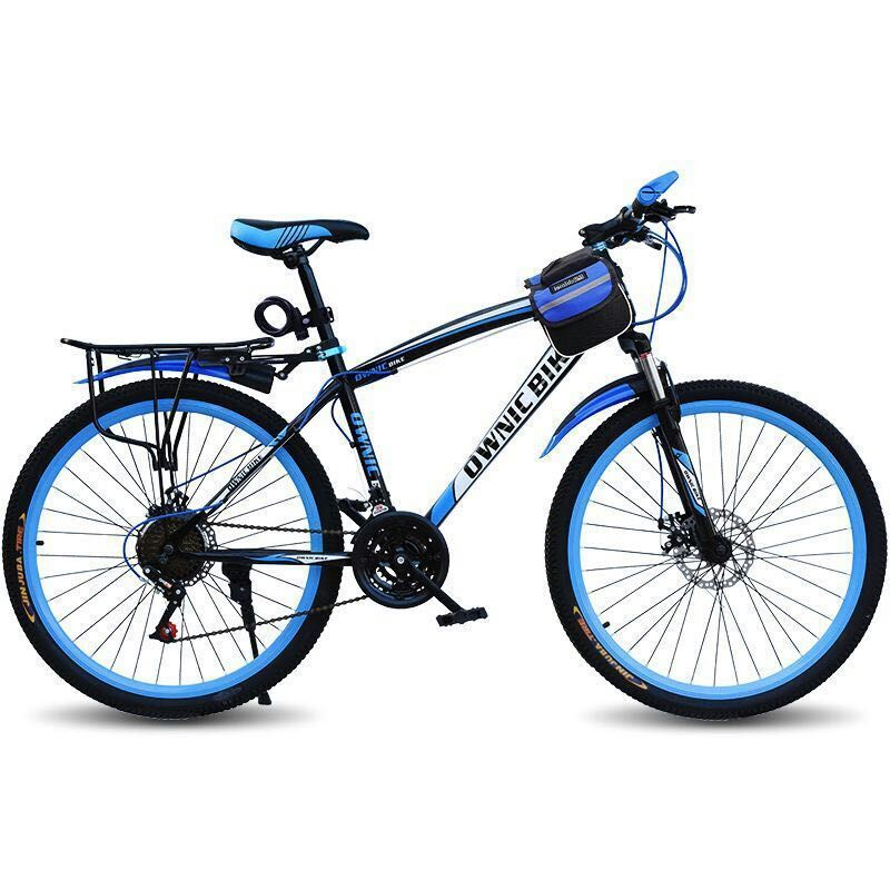 A Mountain Country Vehicle Bicycle Adult Variable Speed Shock Absorption Male Women's Style Student Off-road Vehicle Bicycle