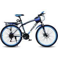 A Mountain Country Vehicle Bicycle Adult Variable Speed Shock Absorption Male Women's Style Student Off road Vehicle Bicycle