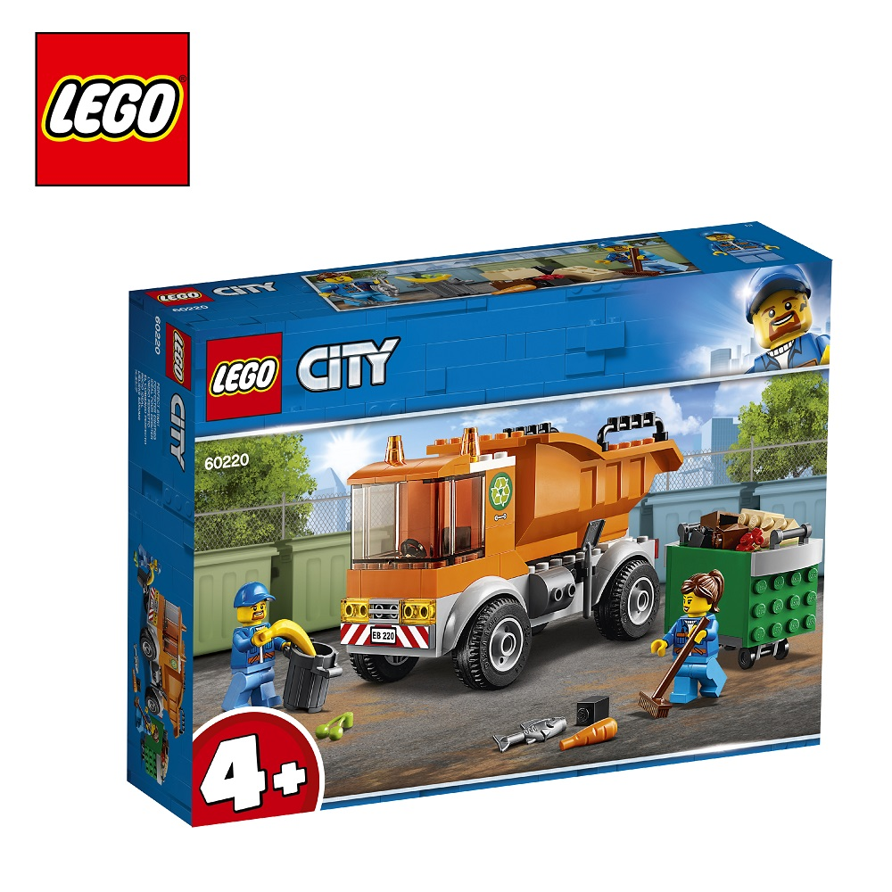 Blocks LEGO 60220 City play designer building block set  toys for boys girls game Designers Construction kazi education toys building blocks toys for children robot car blocks sets model diy bricks classic boys birthday gifts toys
