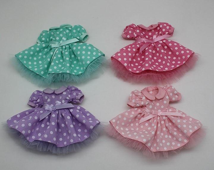 Neo Blythe Doll Polka Dot Princess Dress 1