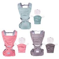 Ergonomic Baby Carrier Infant Baby Hipseat Carrier Front Facing Ergonomic Kangaroo Baby Wrap Sling Backpack for Baby 0 36M