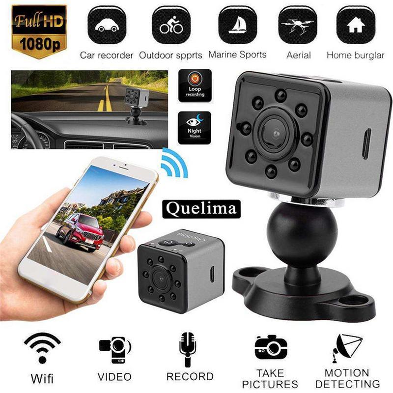 ImprovedFor Quelima SQ13 Wifi Camera Mini Camera Action DV Voice Recorder Motion Dection Burglar Auto Cam DVR Camera