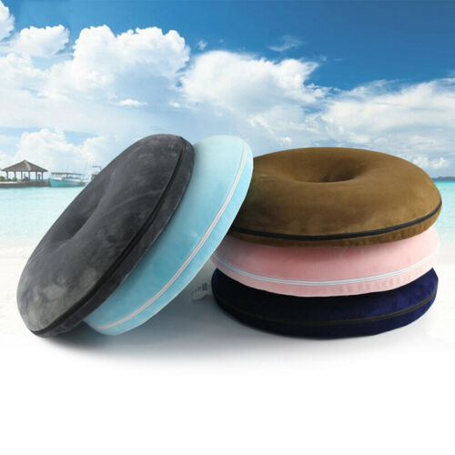 Coccyx Pain Relief Donut Shaped Cushion Memory Foam Comfort Donut Pillow