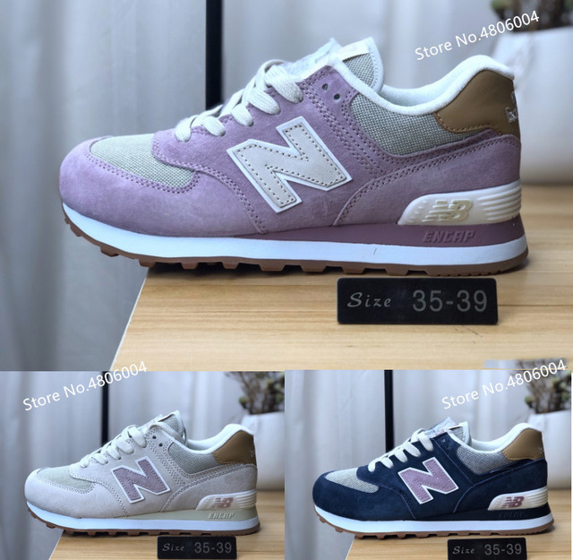 c1e4d0c92ad9e original New Balance NB574 women sneakers Retro Sports Leisure Running Shoes  35-39