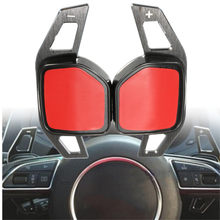 Par de palas de cambio de volante de coche, extensión de la palanca de cambios de aluminio para Audi A1 A3 A4 A6 A7 A8 Q5 Q7 TT R8
