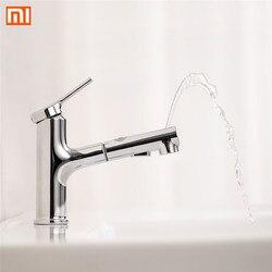 Xiaomi Dabai Bad Becken Waschbecken Wasserhahn W/Pull Out Rinser Sprayer Gurgeln Bürsten 2 Modus Mischbatterie Kalten & heißer Badewanne Wasserhahn