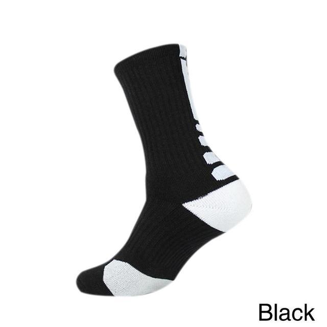 2019 New Outdoor Sport Bike Sock Outdoor Breathable Cycling Sock Badminton Soccer Basketball Walking Running Tennis Sports Socks