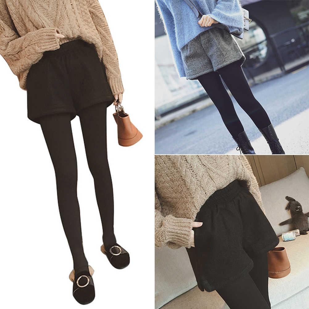 Свободные Хип мягкий наряд Для женщин шорты корейский осень зима моды слово все