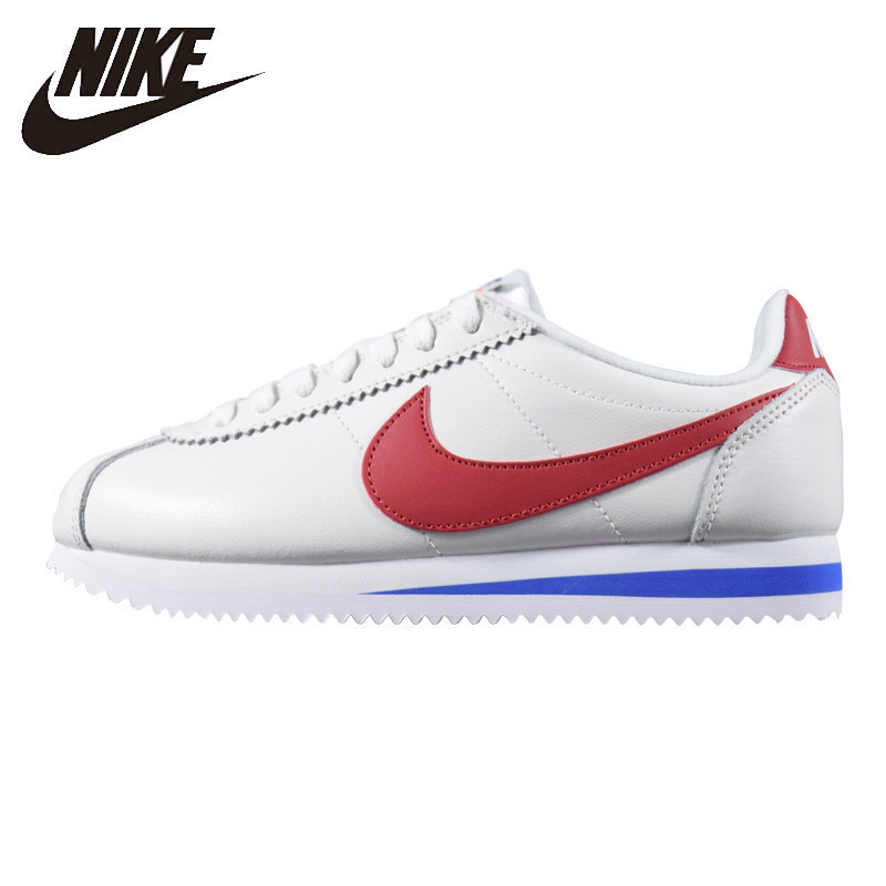 Nike Womens CLASSIC CORTEZ Running Shoes Shock Absorption Wear-resistant Breathable Sneakers 905614-100 881205-101Nike Womens CLASSIC CORTEZ Running Shoes Shock Absorption Wear-resistant Breathable Sneakers 905614-100 881205-101