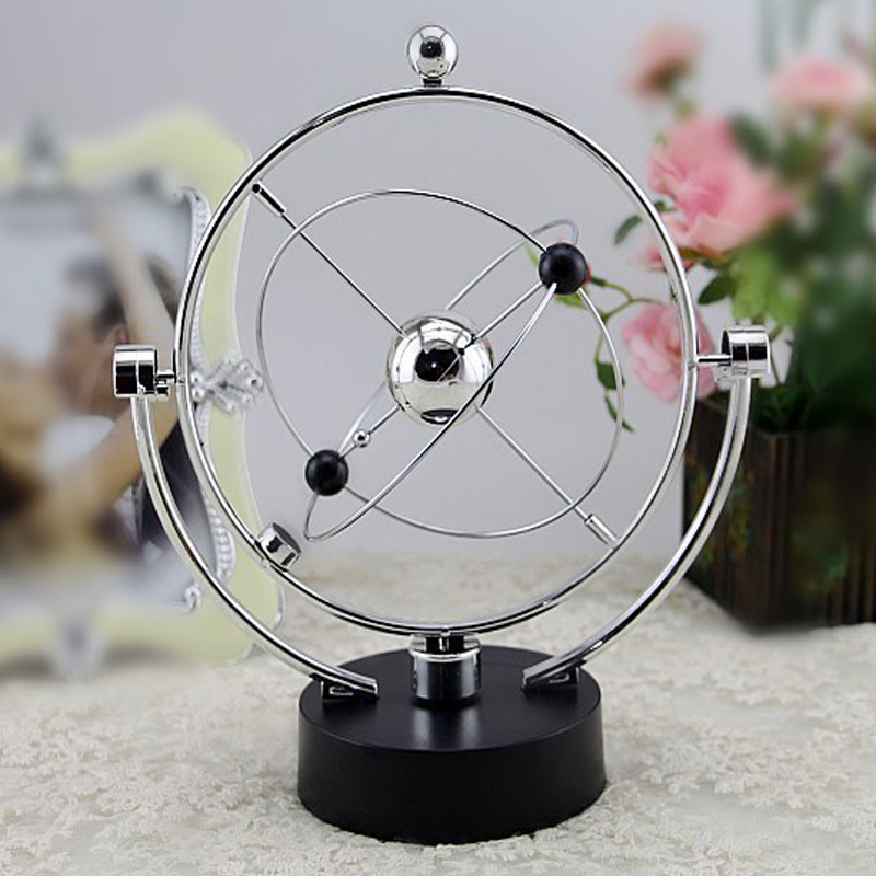 Revolving Balance Ball Perpetual Motion Physics Science Teaching Aids Educational Toy Home Desk Art Craft Decor School Supplies Home