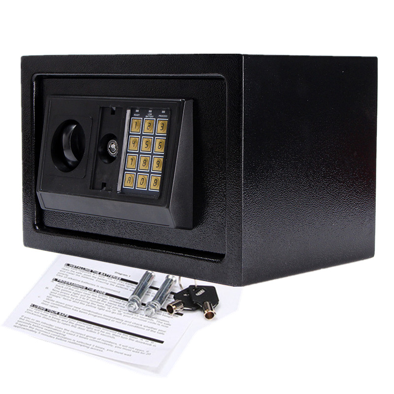 Digital Electronic Safe Box Q235B Steel Plate Keypad Lock Wall Security Cash Jewelry Hotel Cabinet SafesDigital Electronic Safe Box Q235B Steel Plate Keypad Lock Wall Security Cash Jewelry Hotel Cabinet Safes