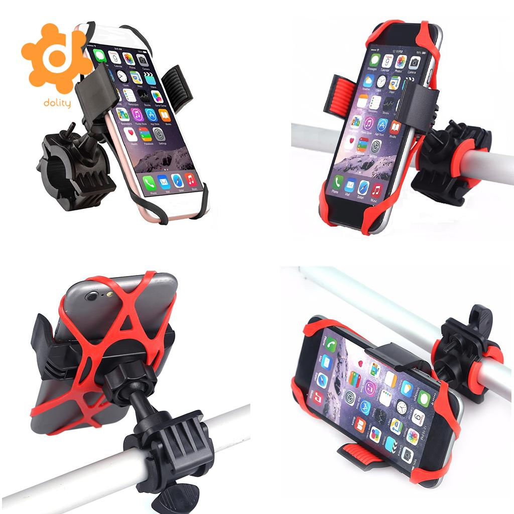 Universal Bike Bicycle Handlebar Stand Mount Holder For Mobile Cell Phone GPS