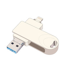Usb 3,0 unidad Flash Usb Otg Pen Drive Usb disco Flash Pendrive para Iphone/Ipad/Android/ tablet Pc(China)