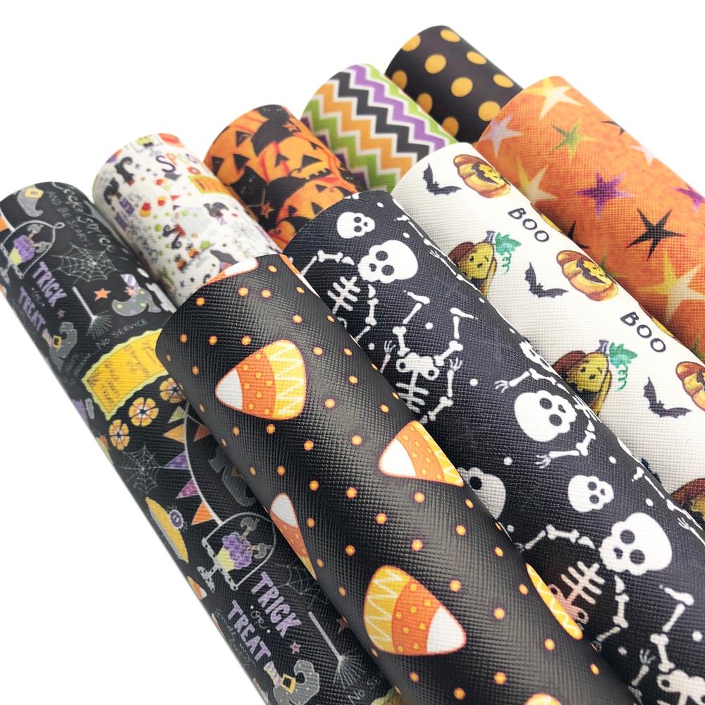 David accessories см 20*34 см Хэллоуин Синтетическая кожа искусственная кожа, DIY крови Череп Призрак Рождество одежды сумка, 1Yc2740